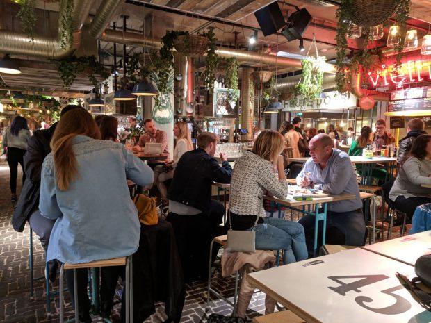 eindhoven restaurant - down town food market