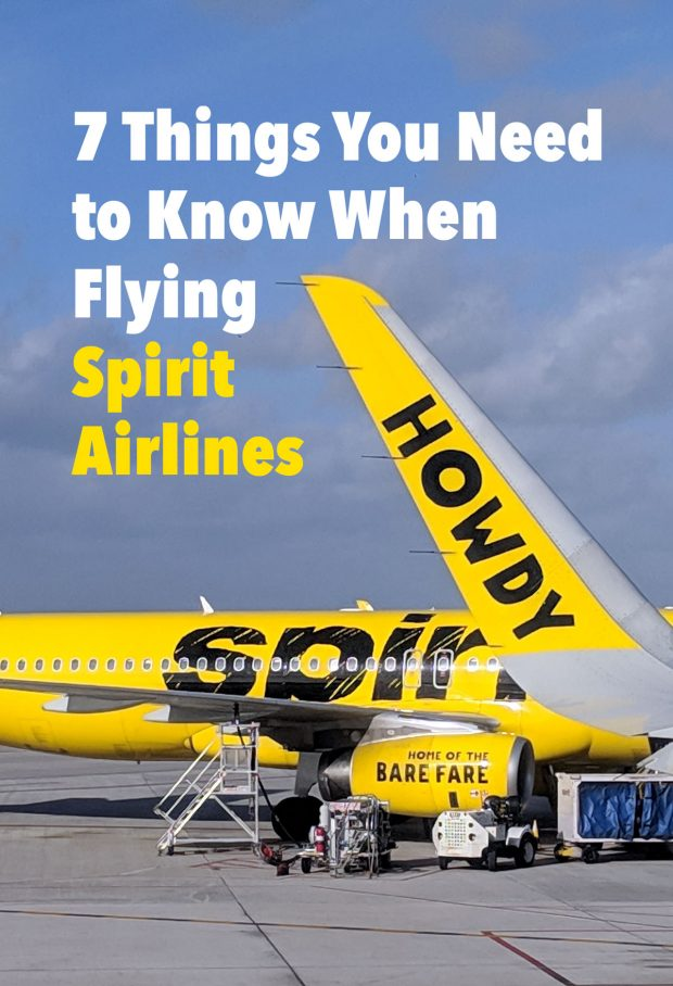 7 Things You Need to Know When Flying Spirit  Airlines