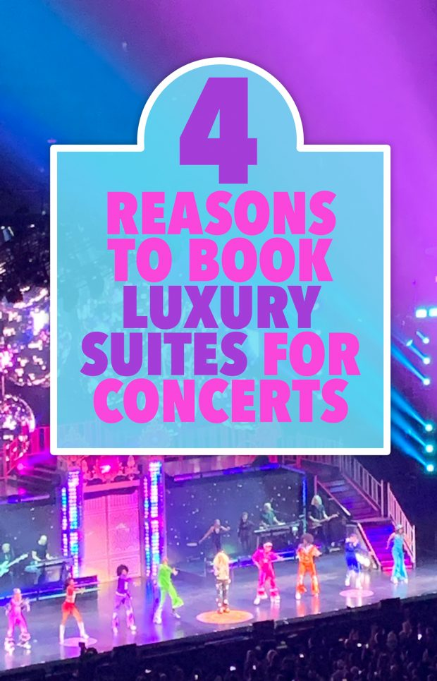 4 Reasons to Book Luxury Suites for Concerts