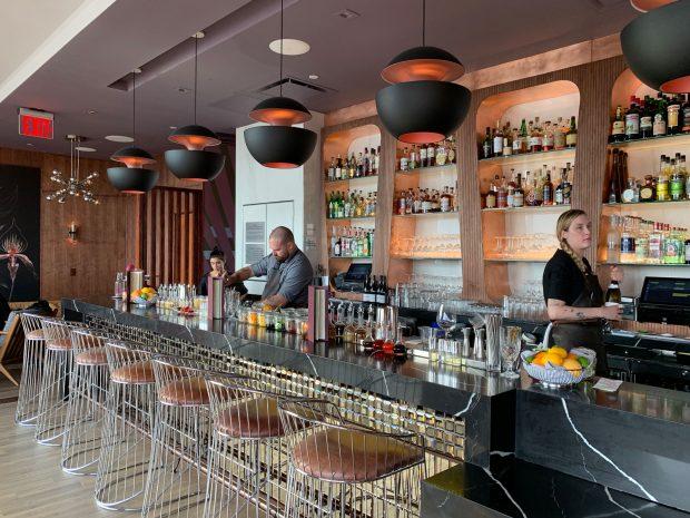 Dear Irving Rooftop bar at Aliz Hotel