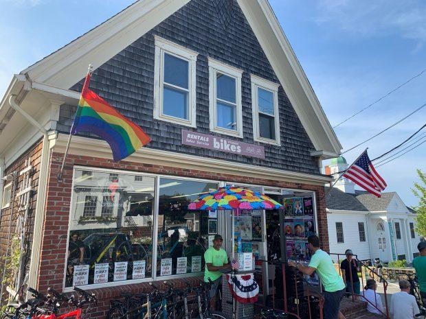 Ptown Bikes storefront