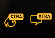 grindr xtra button